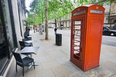 London Telephone Booth Royalty Free Stock Image