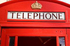London telephone booth Royalty Free Stock Photo