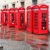 London telephone Royalty Free Stock Photos
