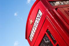 London telephone box. This is an image of a tradional London Telephone Box that is common within London and the rest of the United Kingdom. It also a well known royalty free stock photo