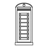London telephone box Stock Photography