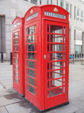 London telephone box Royalty Free Stock Photo