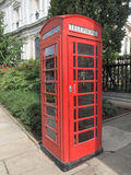 London telephone box Stock Photos