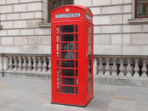 London telephone box Royalty Free Stock Images