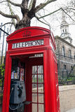 London telephone box Royalty Free Stock Image