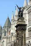 London, Temple Bar Monument stock image