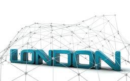 London text Stock Image