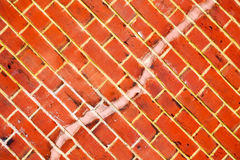 In london   the         texture of a ancien wall and ruined bric Stock Photography