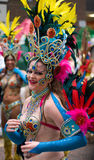 London Thames Festival Night Carnival Royalty Free Stock Photography