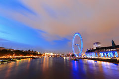 London thames river Royalty Free Stock Photo