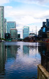 London Thames Skyscrapers Royalty Free Stock Photography