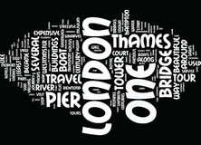 London From Thames Text Background  Word Cloud Concept Royalty Free Stock Photos