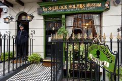 Free London, The Sherlock Holmes Museum Stock Images - 163883424