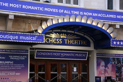 London Theatre, Duchess Theatre Royalty Free Stock Photography