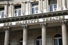 London Theatre, Her Majesty's Theatre Stock Images