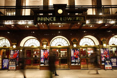 London Theatre, Prince Edward Theatre Royalty Free Stock Photos