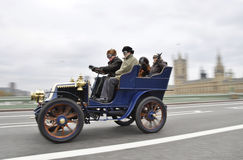 London to Brighton Veteran Car Run 2011 Royalty Free Stock Photo