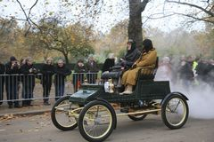 London to Brighton Veteran Car Run Stock Photos