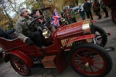 London to Brighton Veteran Car Run Royalty Free Stock Photography