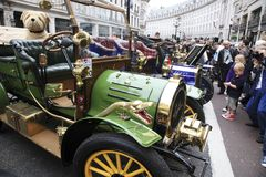 London to Brighton Veteran Car Run Royalty Free Stock Image