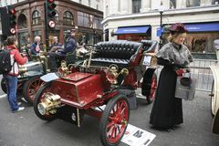 London to Brighton Veteran Car Run Royalty Free Stock Images