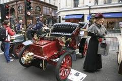 London to Brighton Veteran Car Run Royalty Free Stock Images