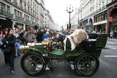 London to Brighton Veteran Car Run Stock Image