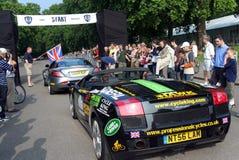 London to Monte Carlo Rally Start stock photos