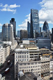 London from the top Stock Photography