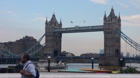 London torn Thames River Arkivbild