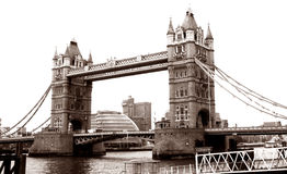 London tornbro Royaltyfri Fotografi