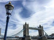 London tornbro, UK Arkivfoton