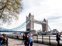 London tornbro, UK Royaltyfri Foto