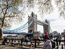 London tornbro, UK Royaltyfri Fotografi