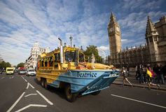 London Tour Bus Royalty Free Stock Images
