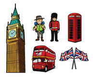 London Tourism Symbol Stock Photography