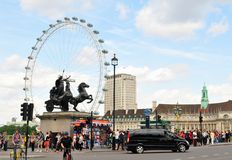 London tourists Royalty Free Stock Images