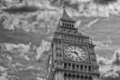 London tower big ben detail Royalty Free Stock Photos