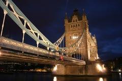 London Tower bridge. AT NIGHT Stock Image