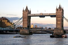 London, Tower-Bridge Stock Photos