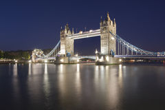 London, Tower bridge Royalty Free Stock Photo
