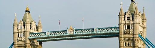 London Tower Bridge. Tower Bridge walkways, London, England stock image
