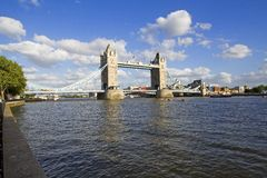 London Tower Bridge. Tower Bridge over the Thames in London Royalty Free Stock Image