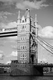 London Tower Bridge in black and white Stock Images