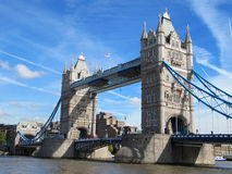 London tower bridge(city of London) Royalty Free Stock Photo