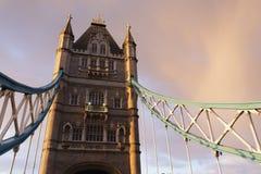 London Tower bridge closeup Royalty Free Stock Photo