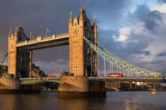 London Tower bridge Royalty Free Stock Images