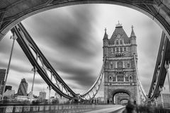 London Tower Bridge. Tower Bridge in London, England stock photos