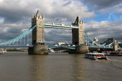 London Tower Bridge, England Royalty Free Stock Photos