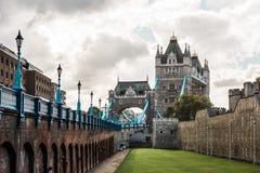 London Tower Bridge in England Royalty Free Stock Photos